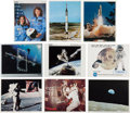 Explorers:Space Exploration, NASA Color Lithograph Prints, Collection of Ninety-Nine, Featuringa Wide Range of Subject Matter. ...