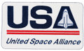 Explorers:Space Exploration, Space Shuttle: Rare United Space Alliance Nomex Patch....