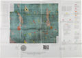 """Explorers:Space Exploration, Apollo 12 Mission """"Lunar Geologic Map of the Lansberg P Region ofthe Moon."""" ..."""
