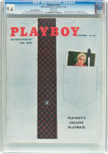 Magazines:Vintage, Playboy V5#9 Newsstand Edition (HMH Publishing, 1958) CGC NM+ 9.6 White pages....