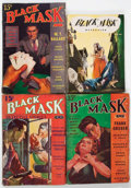 Pulps:Detective, Black Mask Group of 13 (Fictioneers Inc., 1938-74) Condition:Average GD.... (Total: 13 Comic Books)