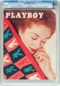 Magazines:Vintage, Playboy V3#5 Newsstand Edition (HMH Publishing, 1956) CGC NM+ 9.6 White pages....