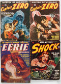 Pulps:Miscellaneous, Assorted Pulps Group of 5 (Various, 1938-50) Condition: Average GD.... (Total: 5 Items)