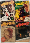 Pulps:Detective, The Whisperer Group of 14 (Street & Smith, 1936-42) Condition: Average GD.... (Total: 14 Items)