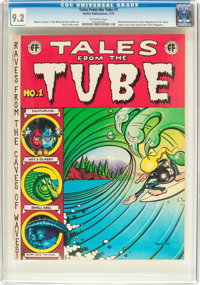 Tales from the Tube #1 (Surfer Publications, 1972) CGC NM- 9.2 Off-white pages