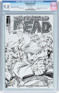 Modern Age (1980-Present):Horror, The Walking Dead #1 Wizard World Madison Sketch Edition (Image,2015) CGC NM/MT 9.8 White pages....