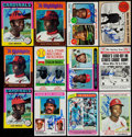 Baseball Cards:Lots, Signed Lou Brock Collection of Baseball Cards, Postcards &Photos (60)....