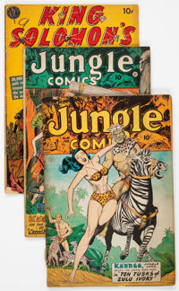 Comic Books - Assorted Golden Age Adventure Comics Group of 52 (Various Publishers, 1950s) Condition: Average VG/FN...