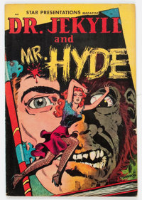 A Star Presentation #3 Dr. Jekyll and Mr. Hyde (Fox, 1950) Condition: VG/FN