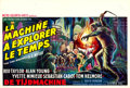 "Movie Posters:Science Fiction, The Time Machine (MGM, 1960). Belgian (14"" X 21"").. ..."