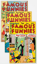 Golden Age (1938-1955):Miscellaneous, Famous Funnies Group of 16 (Eastern Color, 1945-52) Condition: Average VG.... (Total: 16 Comic Books)