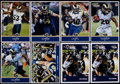 Football Collectibles:Photos, 2012 St. Louis Rams Signed Oversized Cards Lot of 14....