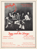 Music Memorabilia:Posters, New York Dolls Auditorium South Hall Concert Poster (1973)....
