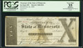Obsoletes By State:Minnesota, St. Paul, MN - Treasurer of the State of Minnesota $10 Feb. 20,1858 Hewitt C400-D10. ...