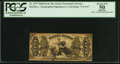 Fractional Currency:Third Issue, Fr. 1357 50¢ Third Issue Justice PCGS Apparent About New 50.. ...