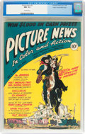 Golden Age (1938-1955):Non-Fiction, Picture News #2 Mile High Pedigree (Lafayette Street Corp., 1946)CGC NM- 9.2 Off-white pages....