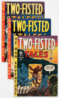 Golden Age (1938-1955):War, Two-Fisted Tales Group of 17 (EC, 1951-54) Condition: AverageVG/FN.... (Total: 17 Comic Books)
