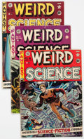Golden Age (1938-1955):Science Fiction, Weird Science Group of 6 (EC, 1951-52) Condition: Average VG-....(Total: 6 Comic Books)