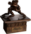 Football Collectibles:Others, 1972 NFC Offensive Player of the Year Trophy Presented by the Chiefs Club of K.C. to Larry Brown....