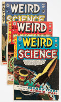 Golden Age (1938-1955):Science Fiction, Weird Science #5-7 Autographed Group (EC, 1951) Condition: AverageVG-.... (Total: 3 Comic Books)