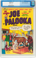 Golden Age (1938-1955):Cartoon Character, Joe Palooka Comics #25 Mile High Pedigree (Harvey, 1948) CGC NM/MT9.8 Off-white to white pages....