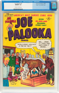 Joe Palooka Comics #25 Mile High Pedigree (Harvey, 1948) CGC NM/MT 9.8 Off-white to white pages
