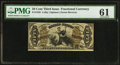 Fractional Currency:Third Issue, Fr. 1358 50¢ Third Issue Justice PMG Uncirculated 61.. ...