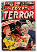Golden Age (1938-1955):Horror, Three Dimensional Tales from the Crypt of Terror #2 (EC, 1954)Condition: GD....