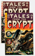 Golden Age (1938-1955):Horror, Tales From the Crypt #41 and 45 Group (EC, 1954-55).... (Total: 2Comic Books)