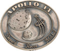 Explorers:Space Exploration, Apollo 14 Flown Silver Robbins Medallion, Serial Number 273,Originally from the Personal Collection of Mission Lunar ModuleP...