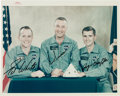 "Autographs:Celebrities, Apollo 1 Crew-Signed Original NASA ""Red Number"" Color Photo. ..."