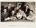 "Autographs:Celebrities, NASA Astronaut Group One: ""Mercury Seven"" Photo Signed by All. ..."