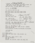 Explorers:Space Exploration, Apollo 17 Lunar Module Flown Lunar Descent Abort Checklist Cue CardOriginally from the Personal Collection of Mission Command...