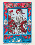 Music Memorabilia:Autographs and Signed Items, Grateful Dead Avalon Ballroom Concert Handbill Signed by ArtistStanley Mouse FD-26 (Family Dog, 1966). ...