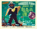 "Movie Posters:Science Fiction, Forbidden Planet (MGM, 1956). Half Sheet (22"" X 28"") Style B.. ..."