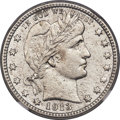 Barber Quarters, 1913-S 25C -- Corrosion, Cleaned -- NGC Details. XF....