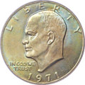 Eisenhower Dollars, 1971 $1 MS66+ PCGS. CAC....
