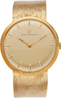 Estate Jewelry:Watches, Gentleman's Girard Perregaux Gold Watch. ...