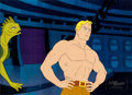 Animation Art:Production Cel, The New Adventures of Flash Gordon Production Cels andAnimation Drawing Group of 8 (Filmation, 1979).... (Total: 8Original Art)