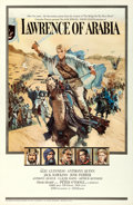 "Movie Posters:Academy Award Winners, Lawrence of Arabia (Columbia, 1962). One Sheet (27"" X 41"") Roadshow Style A, Howard Terpning Artwork.. ..."
