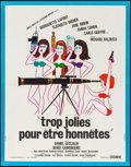"Movie Posters:Foreign, The Seduction Squad (Cocinor, 1972). French Affiche (22.75"" X 28.75""). Foreign.. ..."