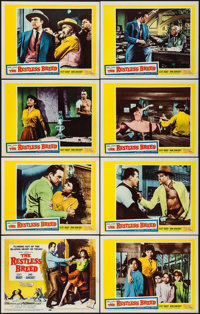 "The Restless Breed (20th Century Fox, 1957). Lobby Card Set of 8 (11"" X 14""). Western. ... (Total: 8 Items)"