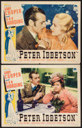 """Movie Posters:Romance, Peter Ibbetson (Paramount, 1935). Lobby Cards (2) (11"""" X 14""""). Romance.. ... (Total: 2 Items)"""