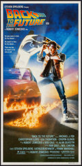 """Movie Posters:Science Fiction, Back to the Future (Universal, 1985). Australian Daybill (13.25"""" X 26.75""""). Science Fiction.. ..."""