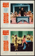 "Movie Posters:Rock and Roll, Mister Rock and Roll (Paramount, 1957). Lobby Cards (2) (11"" X14""). Rock and Roll.. ... (Total: 2 Items)"