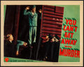"""Movie Posters:Crime, You Can't Get Away with Murder (Warner Brothers, 1939). LinenFinish Lobby Card (11"""" X 14""""). Crime.. ..."""