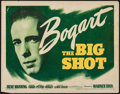 "Movie Posters:Crime, The Big Shot (Warner Brothers, 1942). Title Lobby Card (11"" X 14"").Crime.. ..."
