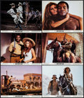 "Movie Posters:Western, 100 Rifles (20th Century Fox, 1969). Color Photos (8) & Photos (2) (8"" X 10""). Western.. ... (Total: 10 Items)"
