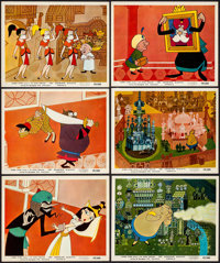 """1001 Arabian Nights (Columbia, 1959). British Front of House Color Photos (11) & Photos (36) (8"""" X 10""""..."""