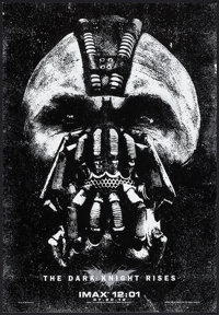 """The Dark Knight Rises (Warner Brothers, 2012). IMAX Exclusive Poster (13.5"""" X 19.5""""). Action"""